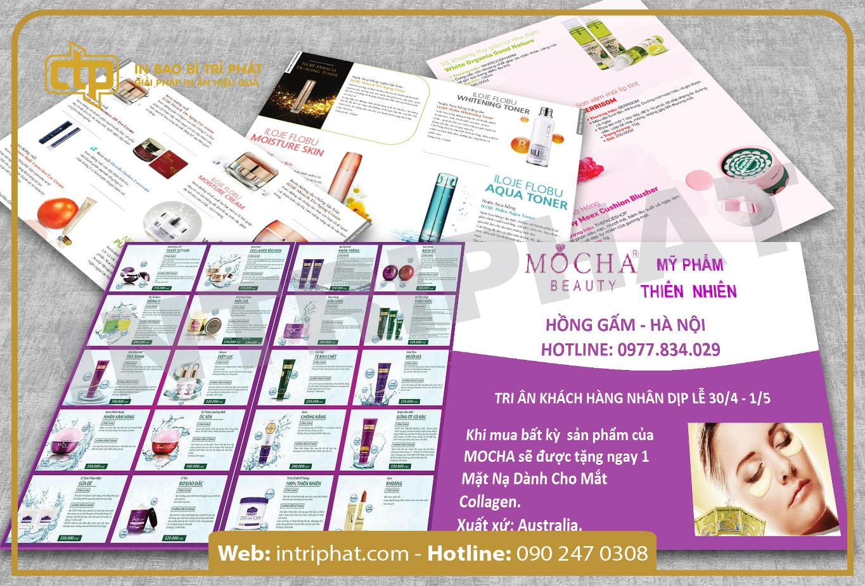 In ấn brochure có hiệu quả trong kinh doanh hay không?